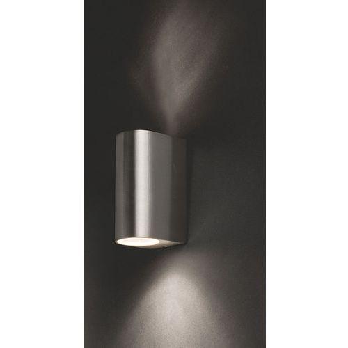 Kinkiet arris 9515 lampa ścienna ogrodowa 2x10w gu10 ip54 inox marki Nowodvorski