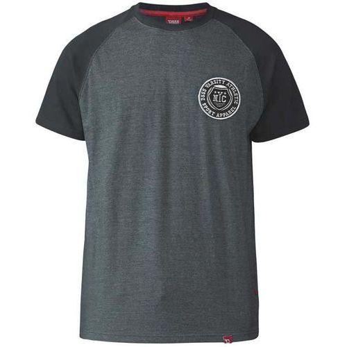 T-shirt szary Duke D555 Spencer 3XL-6XL