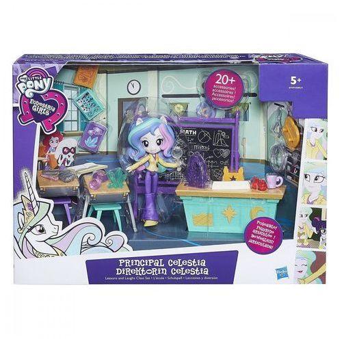 My little pony equestria girls mini lekcja z celstią marki Hasbro