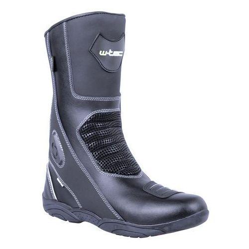 W-tec Skórzane buty motocyklowe wurben nf-6050, czarny, 45
