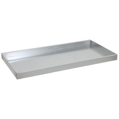Półka wannowa, dodatkowa, szer. x głęb. 1000x500 mm, ocynkowanie. szczelnie zesp marki Stumpf-metall