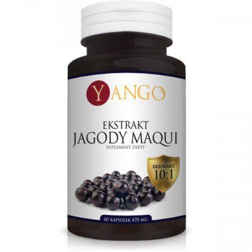 Jagody Maqui - Ekstrakt - 60 kapsułek YANGO (5905279845619)