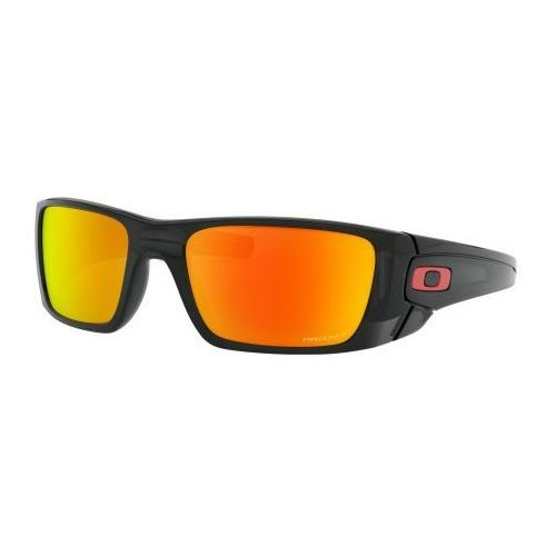 Okulary Oakley Fuel Cell Black Ink Prizm Ruby Polarized OO9096-K060, kolor czarny