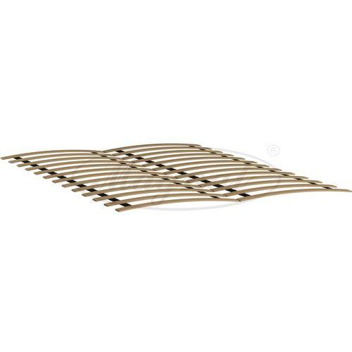 OKAZJA - Łóżko drewniane niwa 140x200 białe marki Magnat - producent mebli drewnianych i materacy
