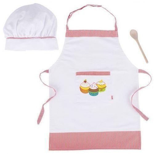 Zestaw dla małego kucharza - fartuch kuchenny dla dzieci - sprawdź w wybranym sklepie