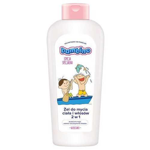 Żel do mycia ciała i włosów Bambino łódź 400 ml