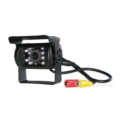 Samochodowa kamera cofania CCD SHARP w metalowej obudowie 12V 24V (5909182385415)
