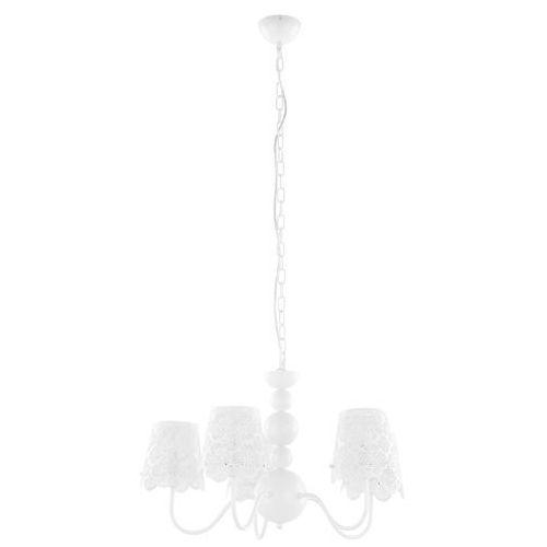Lampa wisząca Italux Arianna V2473B-5 WH zwis żyrandol 5x40W E14 biała (5900644339281)