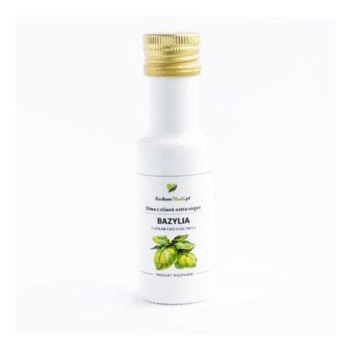 Oliwa z oliwek z bazylią BIO 100ml