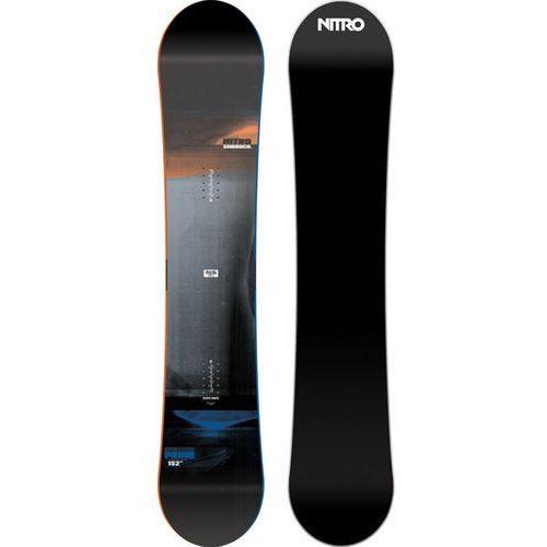 Nowa deska snowboardowa prime rental 158 2017 marki Nitro