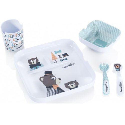Zastawa obiadowa dla dziecka BABYMOOV A005506 Lovely Lunch Chłopcy + DARMOWY TRANSPORT! (3661276014947)
