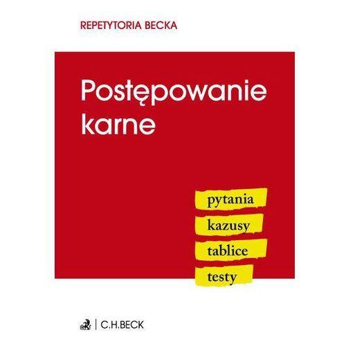Postępowanie karne - Dostawa 0 zł (382 str.)