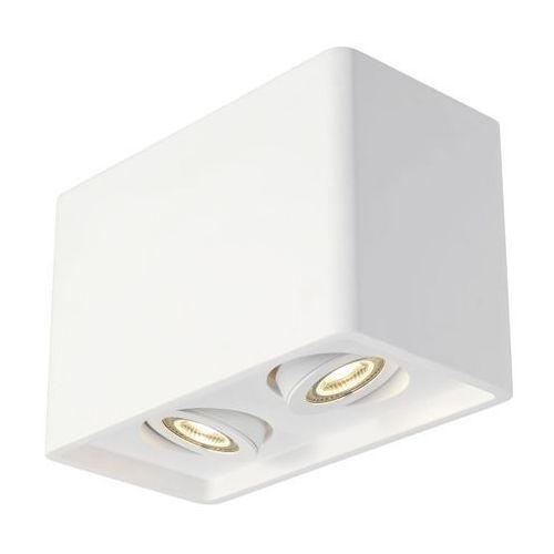 Spotline Lampa sufitowa plastra box 2 gipsowa, 148052