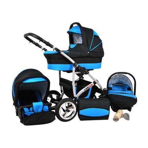 Sun baby wózek wielofunkcyjny largo 3w1, niebieski (2010962850030)