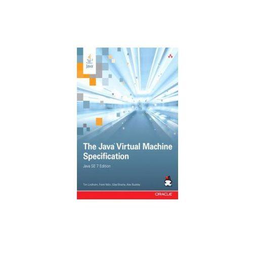 Java Virtual Machine Specification, Java SE 7 Edition (9780133260441)