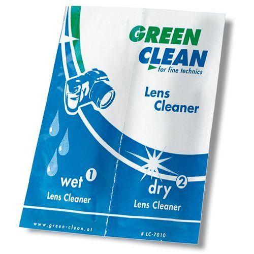 Green clean  zestaw ściereczek do optyki mokra/sucha 100 szt.