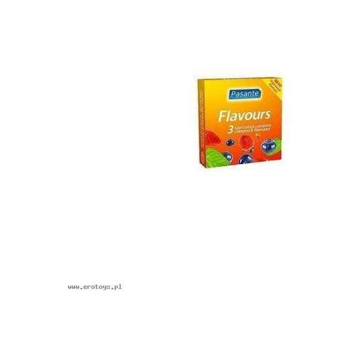 Pasante (uk) Prezerwatywy pasante - flavours (1op. / 3 szt.) (5032331008061)