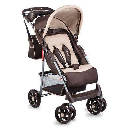 Lionelo Wózek spacerowy emma plus brown/beige - darmowa dostawa!!! (5902581652362). Najniższe ceny, najlepsze promocje w sklepach, opinie.