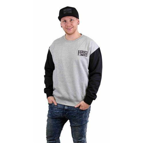 Bluza - o.g. patch crew black-gray (black-gray ) rozmiar: s marki Snowbitch