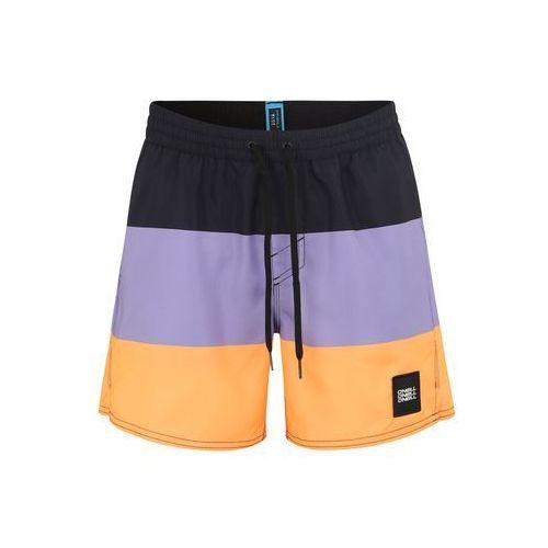 O'NEILL Szorty kąpielowe 'VERT-HORIZON' fioletowy / pomarańczowy / czarny, w 5 rozmiarach