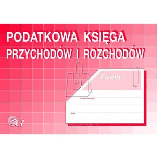 Michalczyk i prokop Podatkowa księga przychodów i rozchodów a4 (k1)