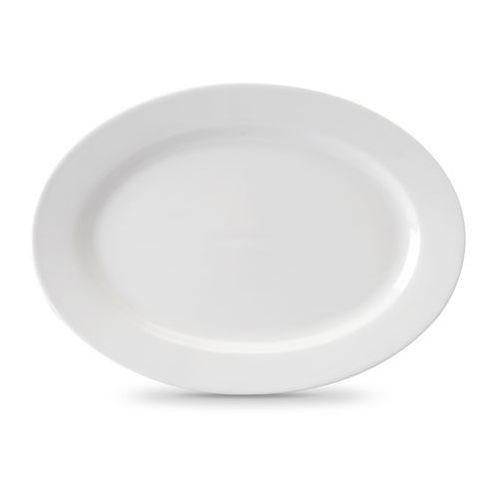 Pólmisek owalny porcelanowy Modermo Prima śr. 23 cm