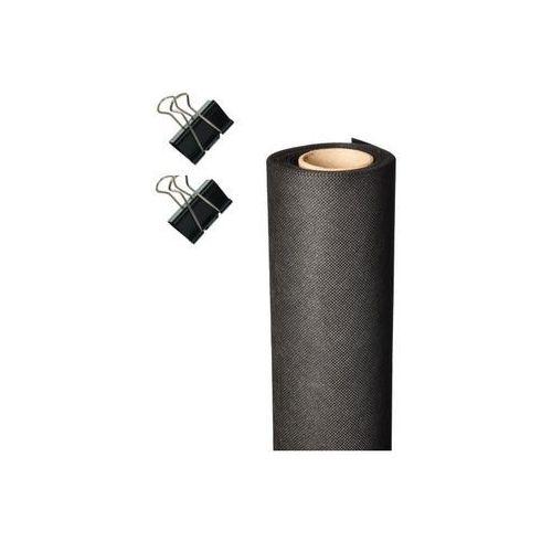 Pozostali Tło fotograficzne 1,6m x 5m 120g na tulei - czarne