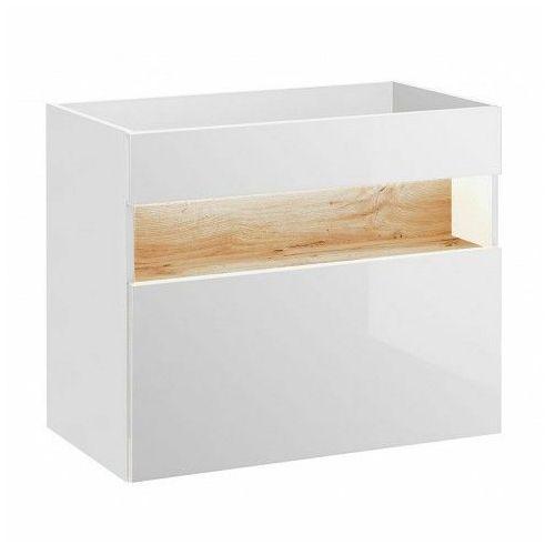 Szafka pod umywalkę Monako 2X 80 cm - Biały