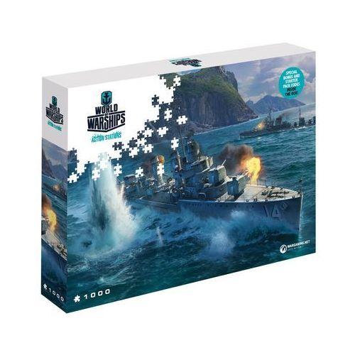 Puzzle World of Warships Azjatyckie niszczyciele 1000 elementów. Wargaming Pan-Asian Destroyers - Merlin Publishing DARMOWA DOSTAWA KIOSK RUCHU