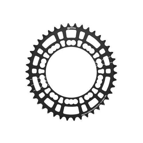 Rotor q-ring road zębatka rowerowa 110mm 5-ramienna wew. czarny 39 zębów 2018 zębatki przednie