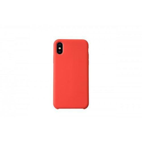 KMP Silicone Case KMP do iPhone X czerwone, kolor czerwony