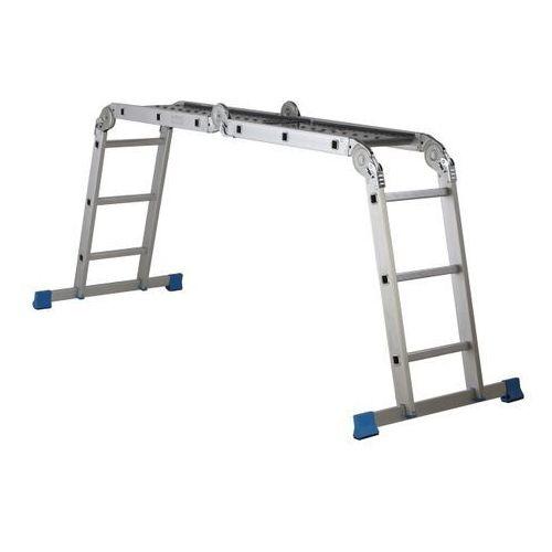Macallister Drabina aluminiowa z platformą 4 x 3 stopnie (3663602770107)