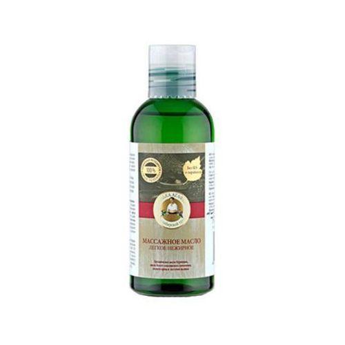 Pervoe reshenie - rosja Bania agafii - olejek do masażu lekki - dzika róża, orzechy laskowe, maliny, ogórecznik