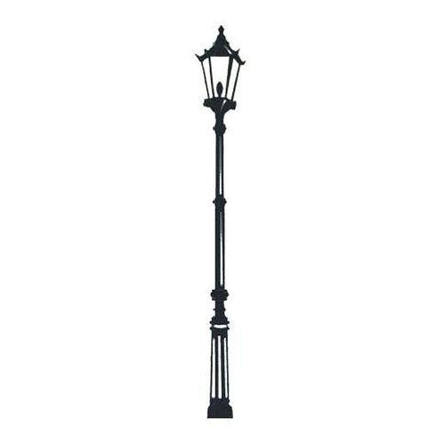 Obi Naklejka latarnia 26 x 201 cm czarna (5907599740377)