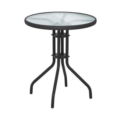 Uniprodo stolik balkonowy - 60 cm - okrągły uni_table_01 - 3 lata gwarancji
