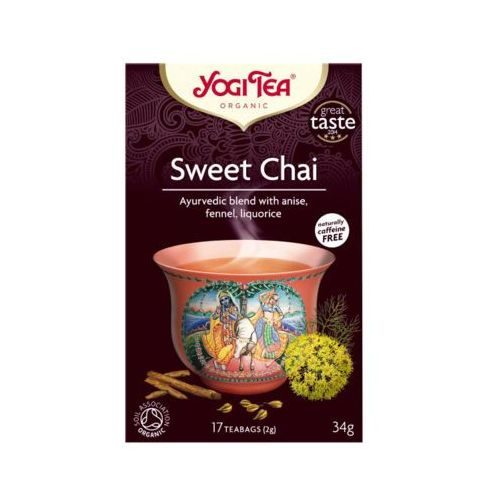 17x2g sweet chai herbata organic bio marki Yogi tea