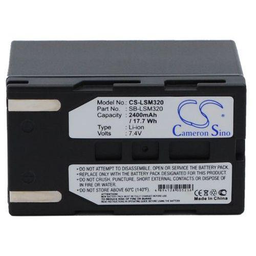 Cameron sino Samsung sb-lsm320 2400mah 17.76wh li-ion 7,4v ()