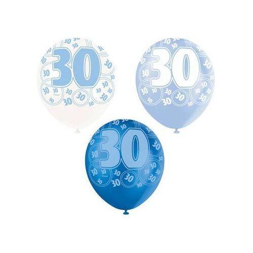 Balony lateksowe z nadrukiem 30 - mix - 30 cm - 6 szt. marki Unique