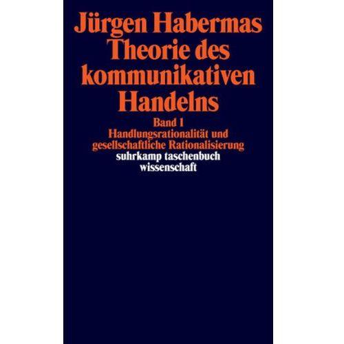 Theorie des kommunikativen Handelns, 2 Bde. (9783518287750)