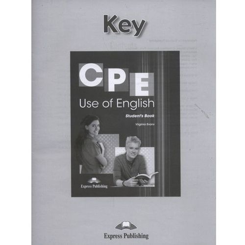 CPE Use of English Key (30 str.)