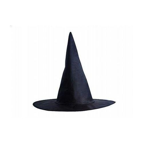 Kapelusz wiedźmy-czarownicy czarna - 1 szt.
