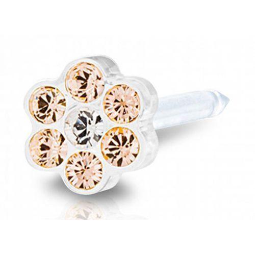 daisy golden rose / crystal 5 mm marki Blomdahl