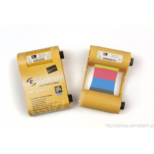 Taśma Zebra ZXP3, kolor 800033-848 YMCKOK, 800033-848