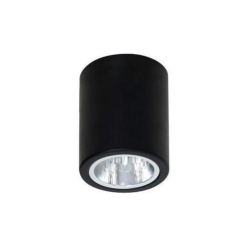 Luminex Plafon lampa sufitowa downlight round 1x60w e27 czarny 7237 >>> rabatujemy do 20% każde zamówienie!!! (5907565972375)
