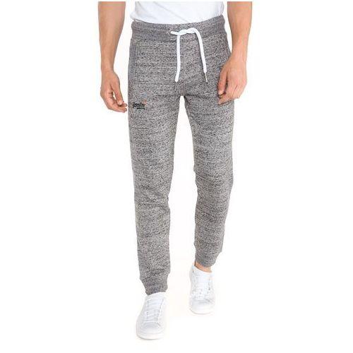 spodnie dresowe szary l marki Superdry
