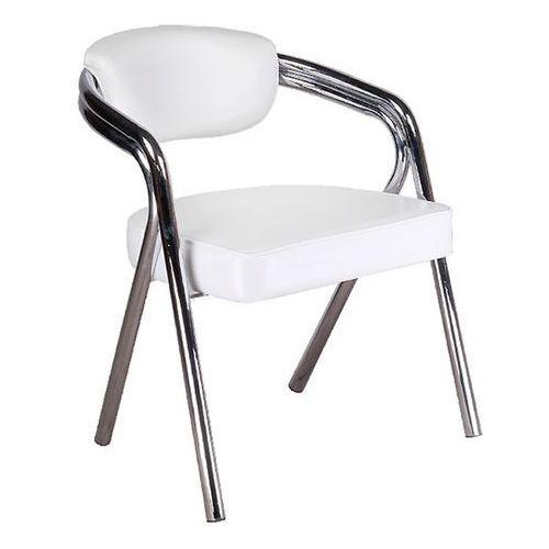 Krzesło bd-4511 białe marki Corpocomfort