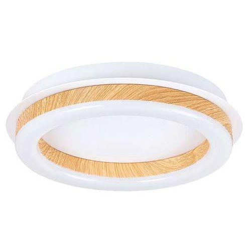 Plafon lampa oprawa sufitowa Rabalux Audrey 1X15W LED piasek 2625, kolor Biały