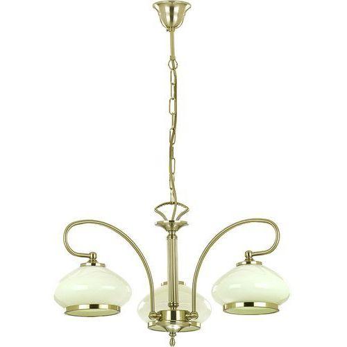 Lampa wisząca astoria 03321.63 żyrandol oprawa 3x60w e27 patyna marki Alfa