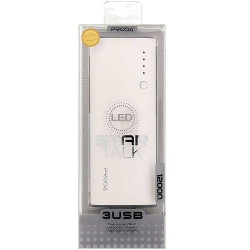 powerbank ppp-11 proda star talk 12000 mah, biały marki Remax