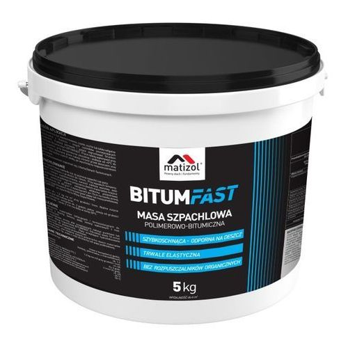 Masa szpachlowa Matizol Bitumfast 5 kg